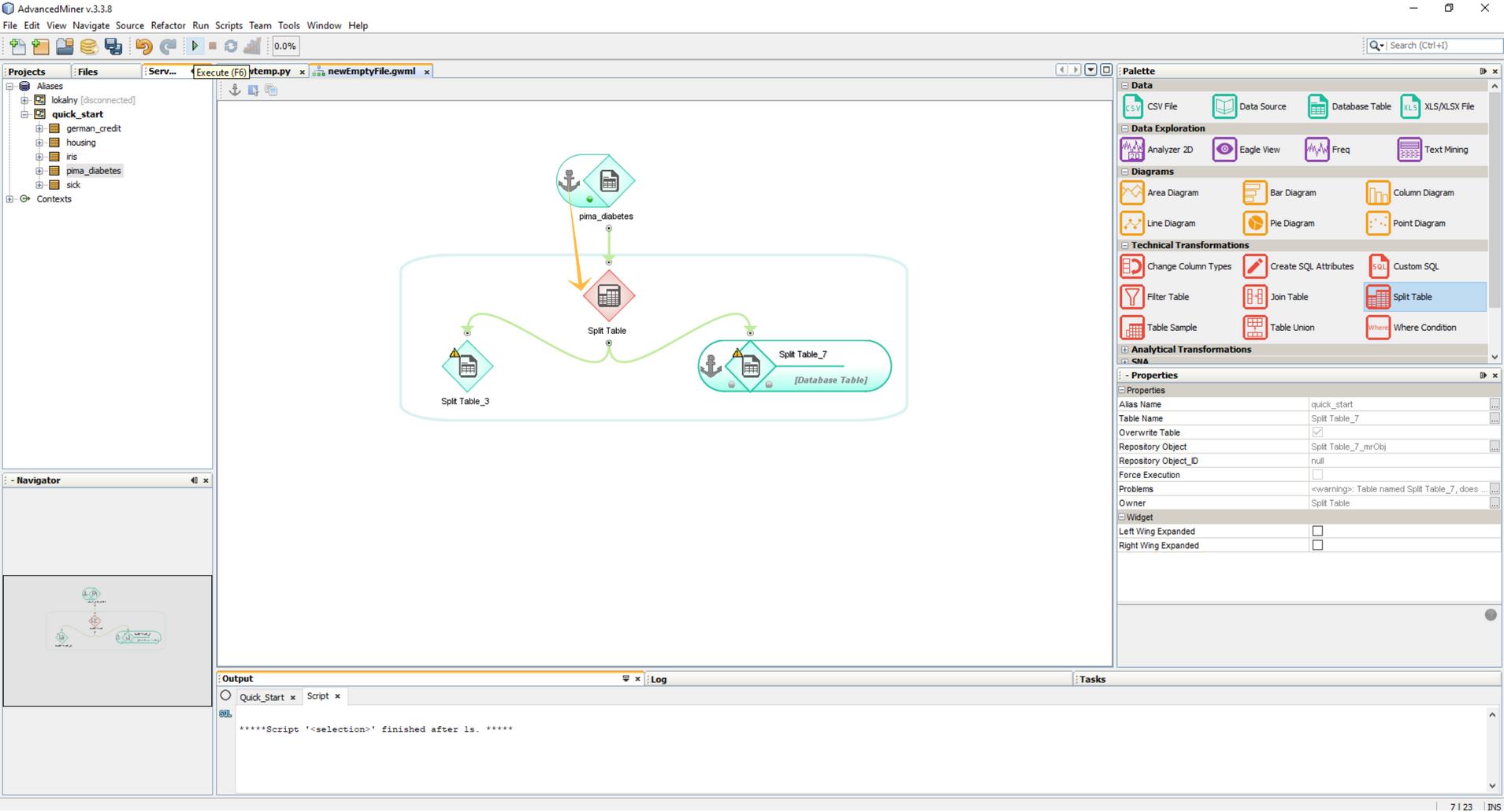 Budowanie modeli predykcyjnych w programie AdvancedMiner - 12