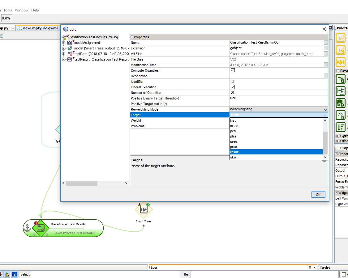 Budowanie modeli predykcyjnych w programie AdvancedMiner - 20