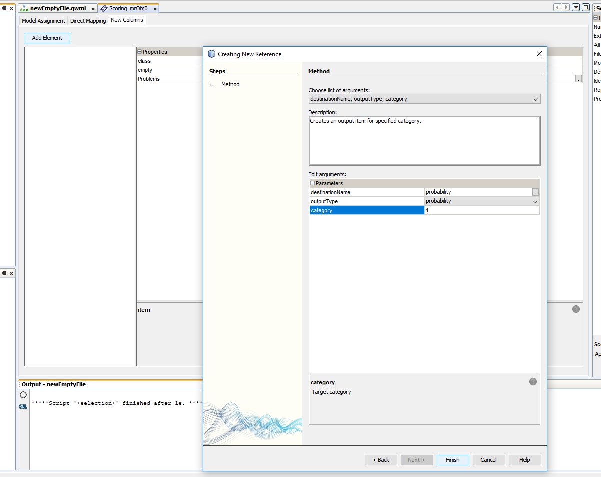 Building predictive models in AdvancedMiner - 28